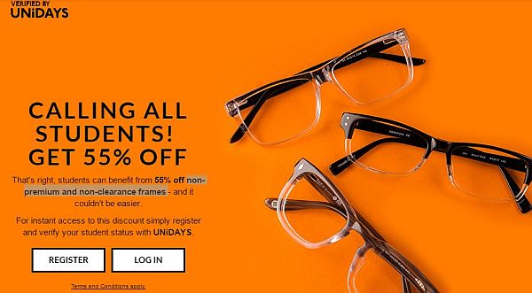 Get 55% Off on Non Premium and Non Clearance Frames 2018 2019 ...
