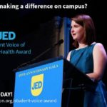 JED's Student Voice of Mental Health Award